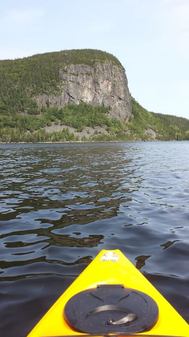 Ocean kayaking on Conception Bay