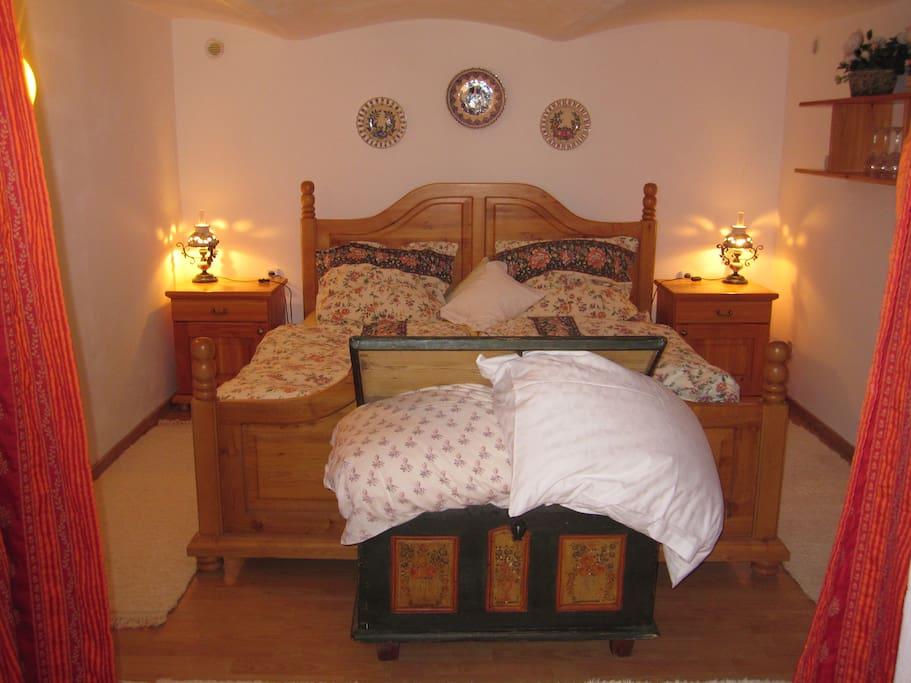 Gemütliches Schlafzimmer im Landhausstil - cozy rustic bedroom