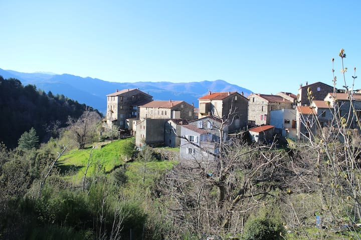 Charming house Corsica mountains - Tasso - Casa