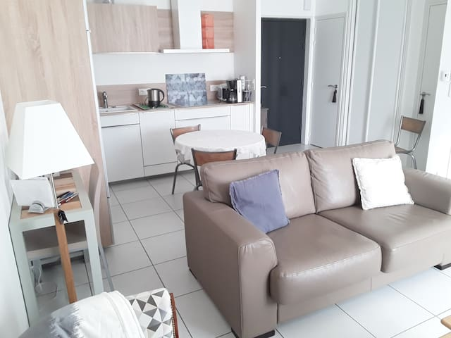 Appartement grand confort en Normandie