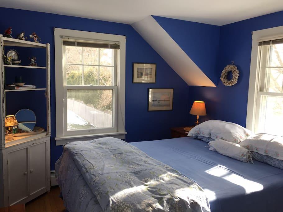Southwest Queen Bedroom on second floor
