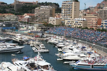 Terrace for Monaco F1 Grand-Prix