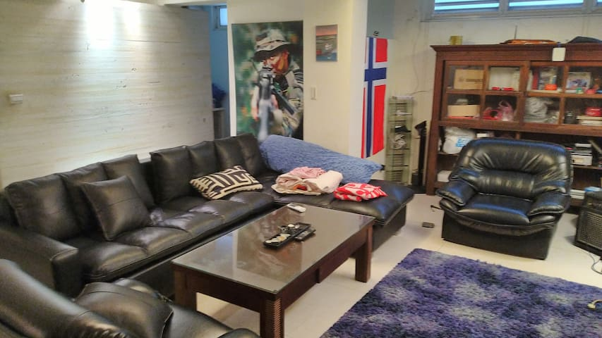 Clean&safe sleeper sofa couch with open kitchen