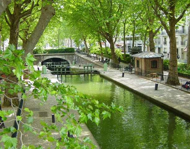 Loft/Maison central Canal St Martin - Parigi - Loft