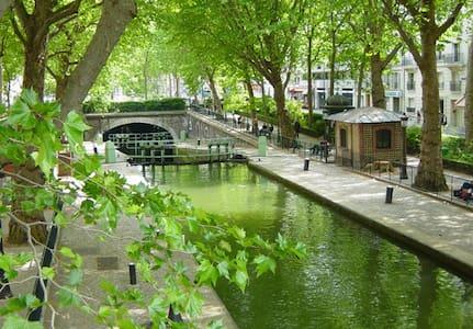 Loft/Maison central Canal St Martin - Parigi