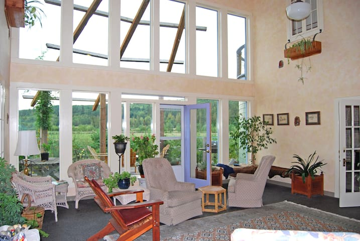 Solstice Farm Bed and Breakfast - Chimacum - Szoba reggelivel