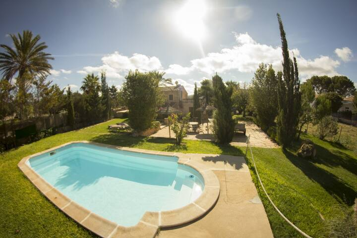 Nice country house at Cas Concos