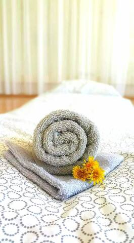 TEJ Hostel floor mattress bed.