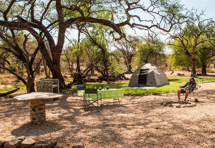 Campsite: Enjoy nature close to WHK @montechristo