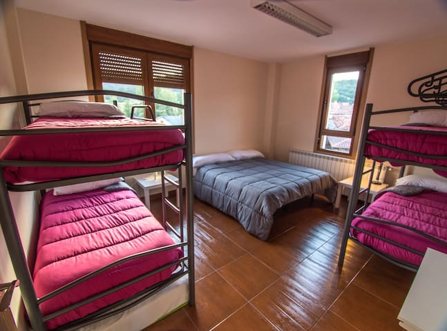 Habitación siete personas