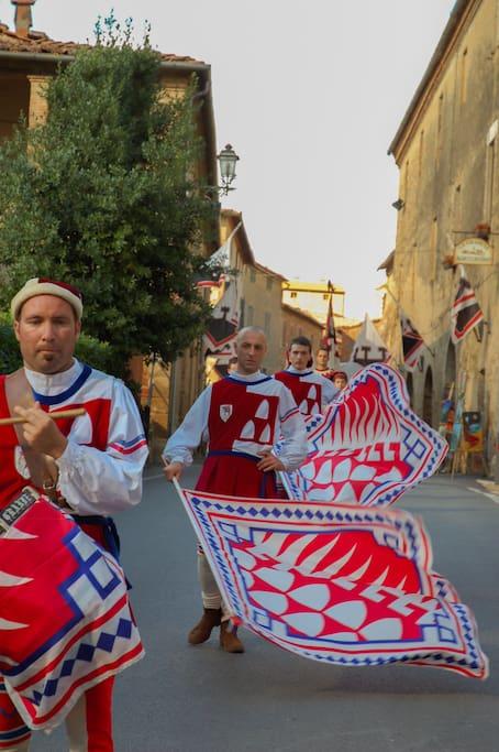 jousting festival in August