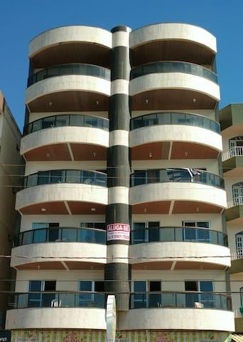 Aptos PAULINO - Frente Mar c/ Varanda 2Q, 1 Suite