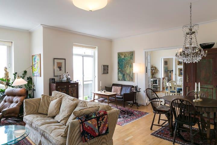 Beautiful top floor  CPH apartment