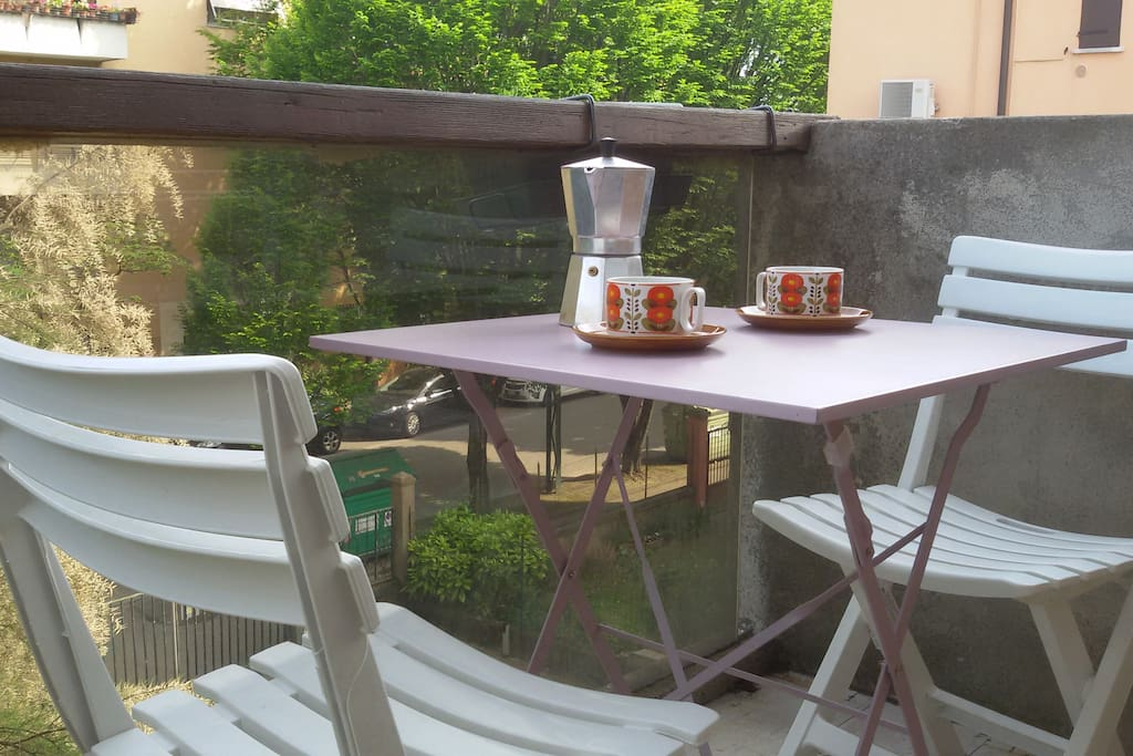 Bright studio in Marghera w.terrace