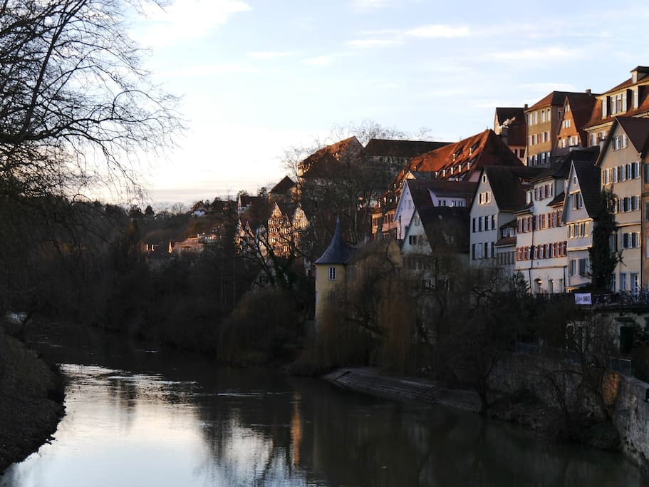 famous neckarfront - and in the middle of it we