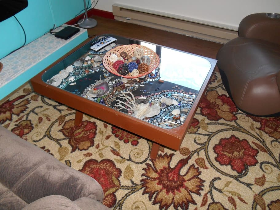 one of a kind coffee tables