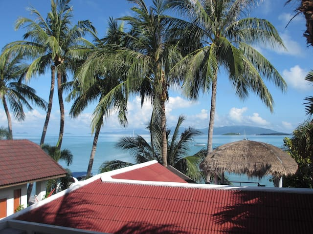 Great place, seaview, 10m to beach - Ko Samui - Apartment