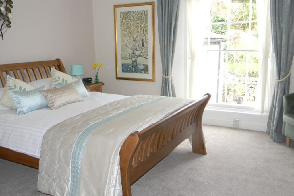 Our lovely superior room with a garden view
