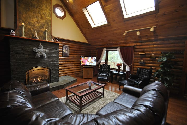 Great Lodge By The Water - Bushkill