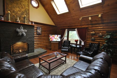 Great Lodge By The Water - Bushkill - House