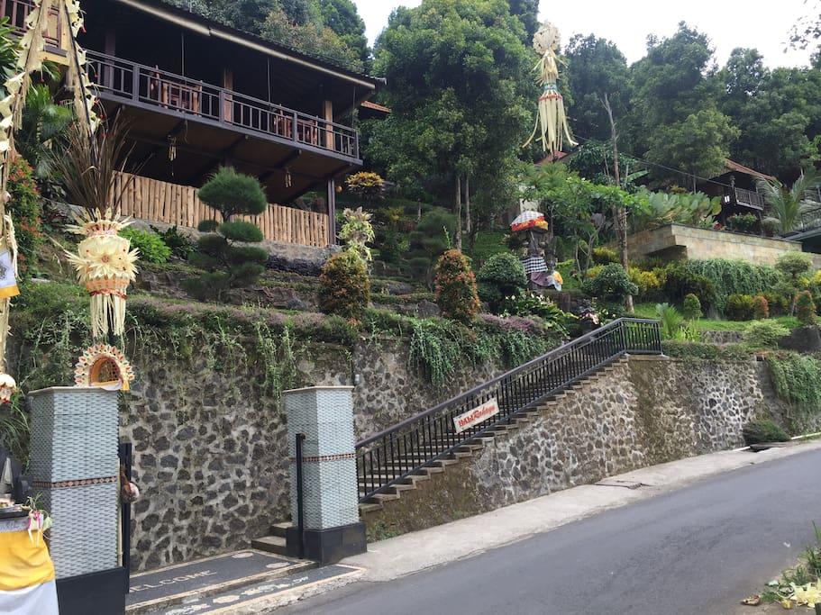 Bali Rahayu entrance
