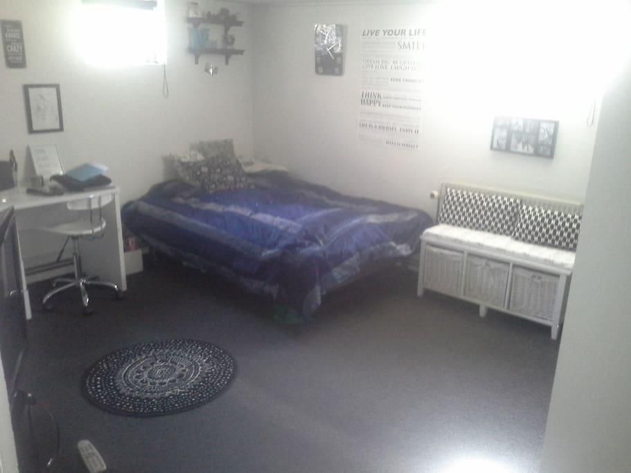 Værelse med 2 sengepladser