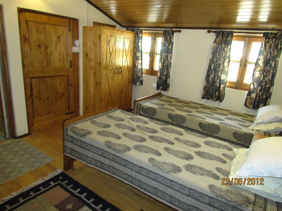 Well laid out comfy rooms