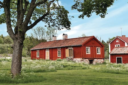Beautiful farm in Stockholm archipelago