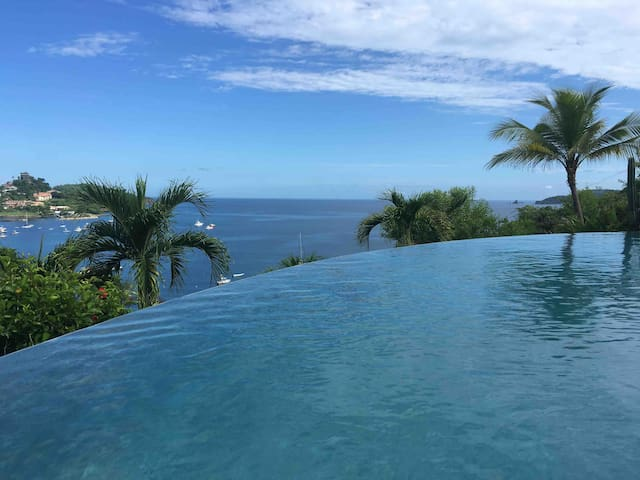 Ocean view suite + private mini plunge pool.