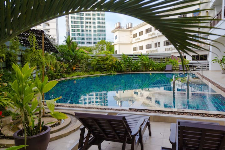 Cosy Pool Studio in TheClubHouse Residence - Muang Pattaya - Condominium