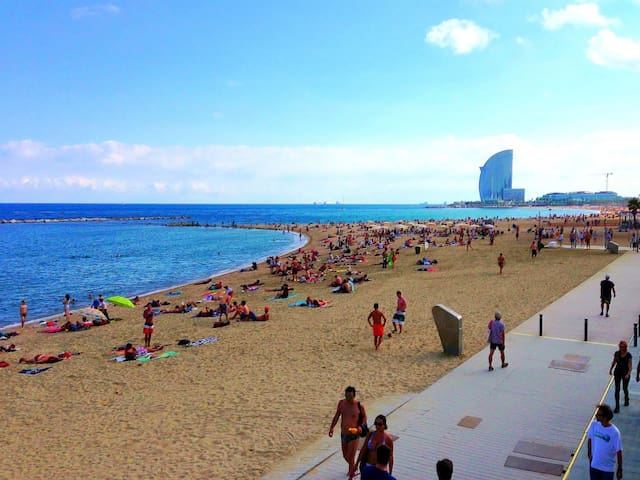 Apartment 5min from the sea - Barcelona - Appartement