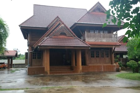 W house, Phrae, Thailand - Sung Men District - 獨棟