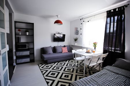 WhiteStudio Sopot-10 min to the beach and Aquapark - 소폿 - 아파트
