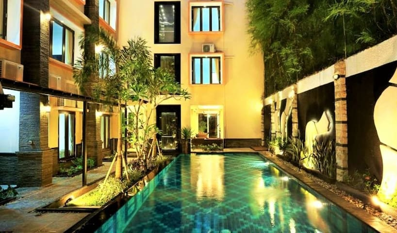 Great Value -Deluxe Boutique Hotel Seminyak