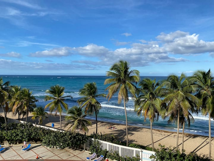 Beach Front, Stunning View Best Location @Condado