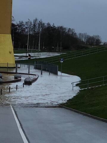 """Zimmer """"Springflut"""" - in Sandstedt am Weserstrand"""