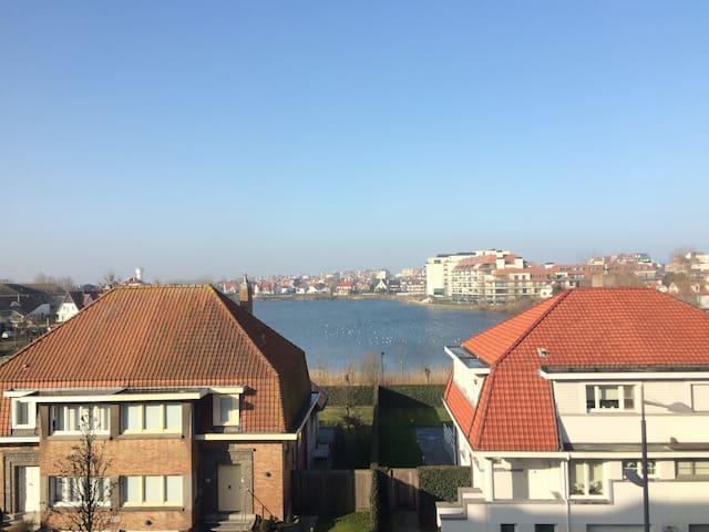 Ruim appartement met prachtig zicht op Zegemeer
