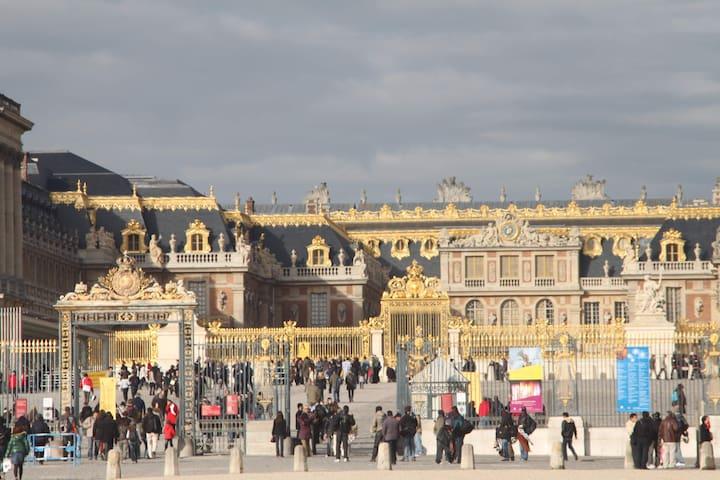 hébergement proche du château de Versailles