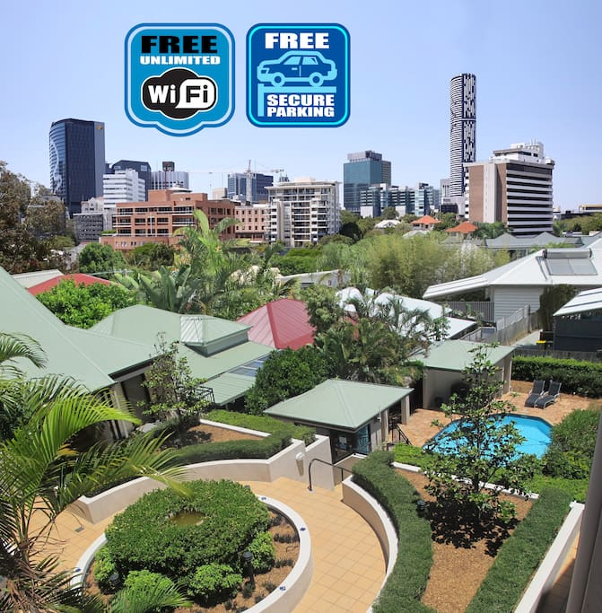 Free Wi-Fi & Free Secure Undercover Car Parking