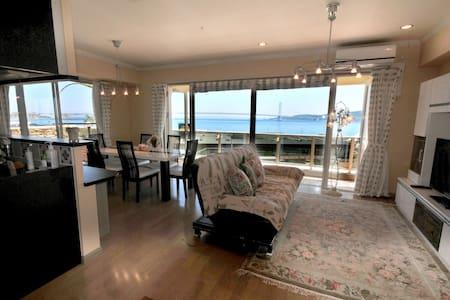 Ocean view condominium/3BR freeWifi/Near Kobe - Akashi-shi