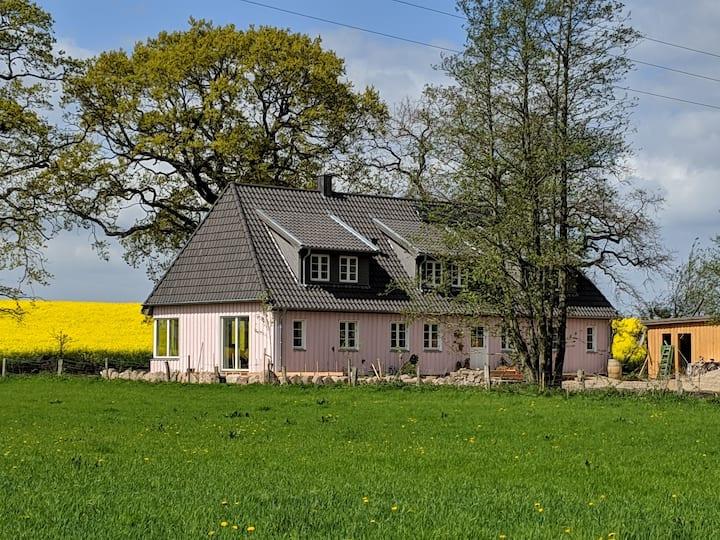 Ferien im Rosa Haus bei Eckernförde und Kappeln