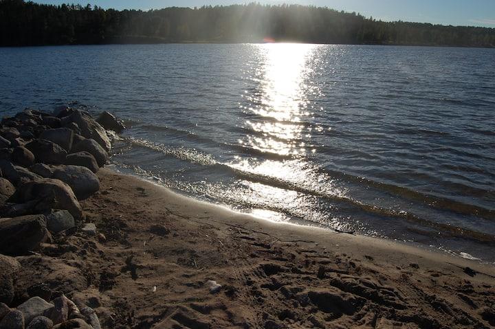 Own beach,newly renovated near Gränna and Tranås.