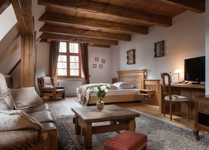 Apartement im Schloss Gerzen Kurfürst Karl Theo