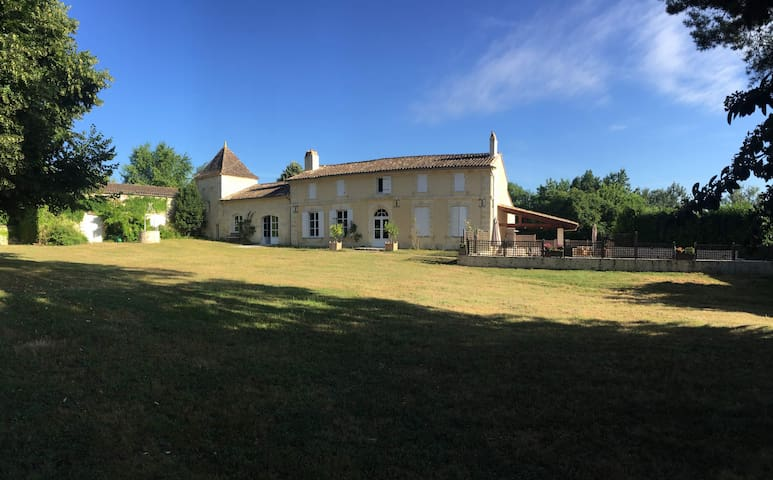 Family house 15min from St Emilion - Guillac - Dom