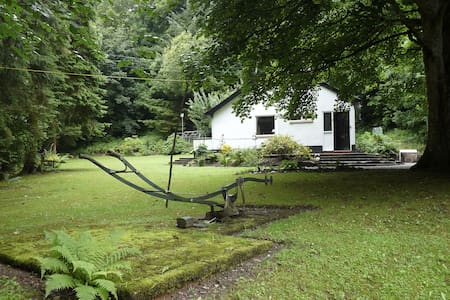 Rural setting,  Nant Bach Cottage,