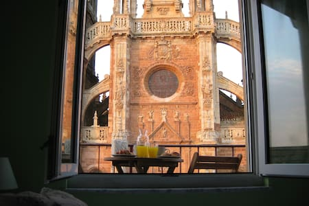 Charmant appartement avec vue imprenable! - Astorga - Apartamento