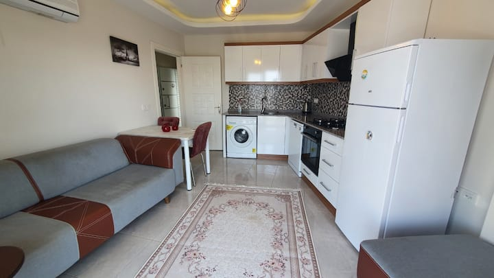 Beautiful 1+1 flat in Mahmutlar, Alanya