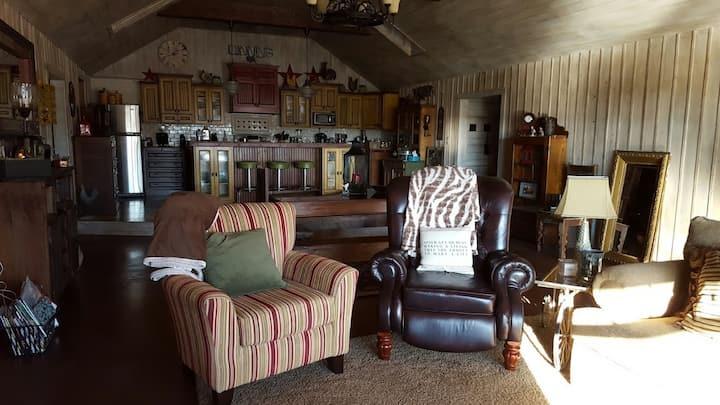 "Elbow Lake Ranch - ""The Hangar"""