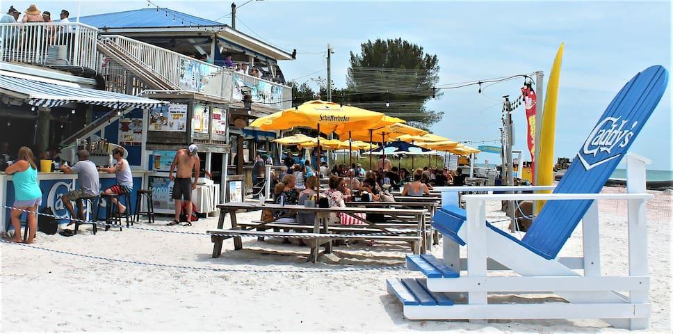 Enjoy Caddy's on the Beach