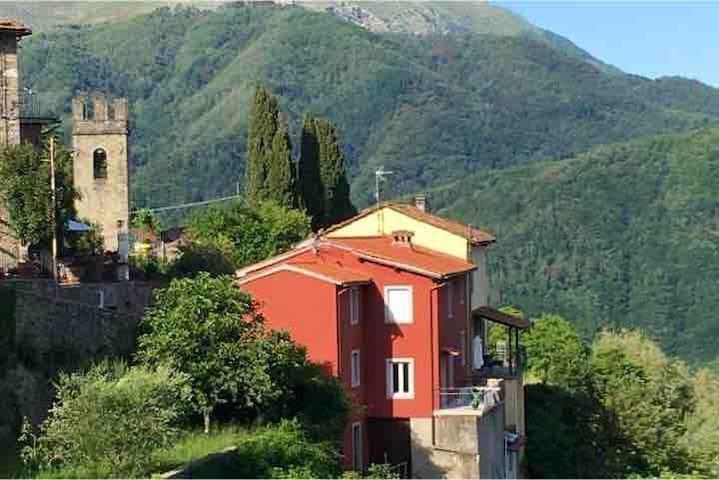 Beautiful village house with panoramic views